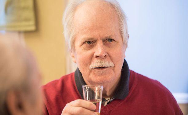 Simo Salminen vietti 80-vuotissyntymäpäiviään vuonna 2012.