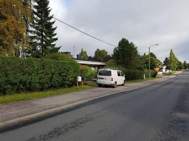 Nainen löytyi kuolleena omakotitalosta Tampeen Lielahdessa.
