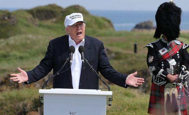 Skotlannissa tällä viikolla vierailleen Donald Trumpin varojen ei uskota riittävän vaalikampanjointiin.