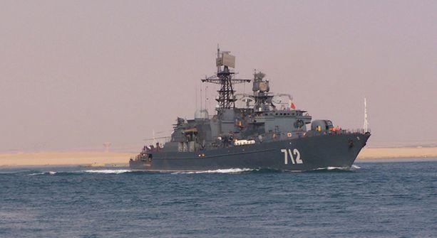 Aluetta turvaamaan lähetettiin lokakuussa jo venäläinen fregatti Neustrashimy.