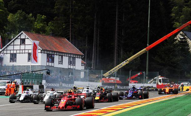 Belgian GP ajetaan ensi kaudella taas totutusti kesäloman jälkeen.