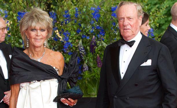 Prinsessa Birgitta ja prinssi Johann Georg av Hohenzollern edustivat yhdessä prinsessa Victorian ja prinssi Danielin häissä vuonna 2010.