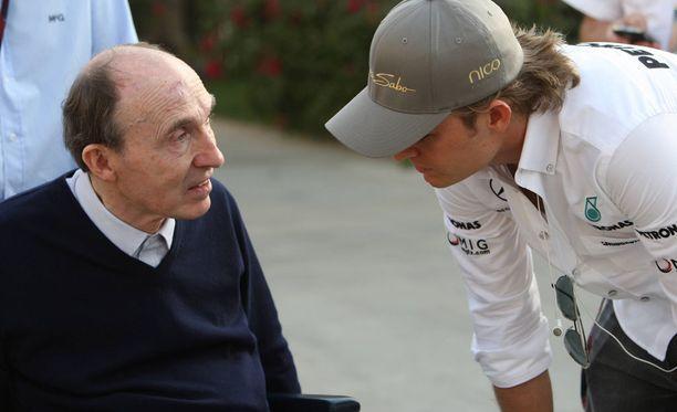 Nico Rosbergilla on suuri arvostus Frank Williamsia kohtaan.