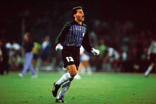 Sergio Goycochea valittiin Italian MM-kisojen tähdistöön.