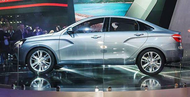 Vesta on uusi isohko sedan-Lada.