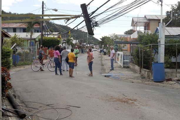 Maa on järissyt Puerto Ricossa useita päiviä.