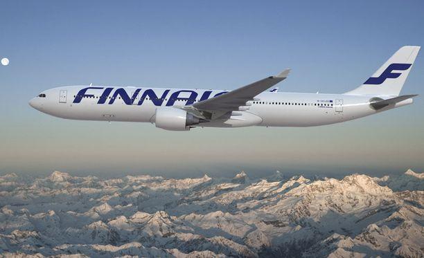 Finnairin kone ohjattiin kovan tuulen vuoksi Osloon.