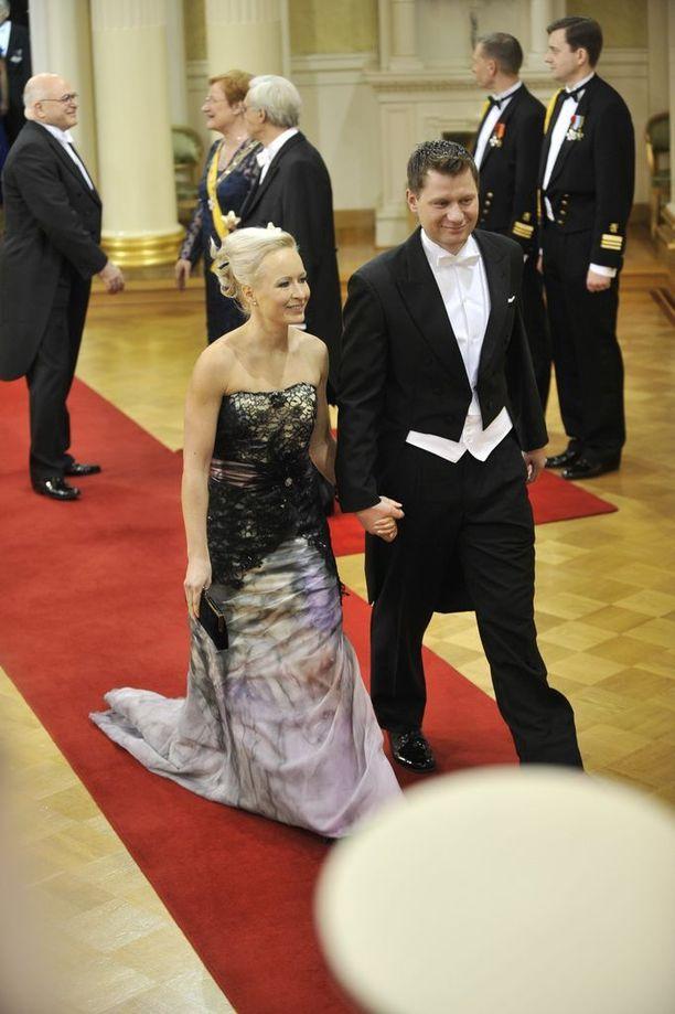 Vuonna 2010 pariskunta juhli itsenäisyyspäivää Linnassa.