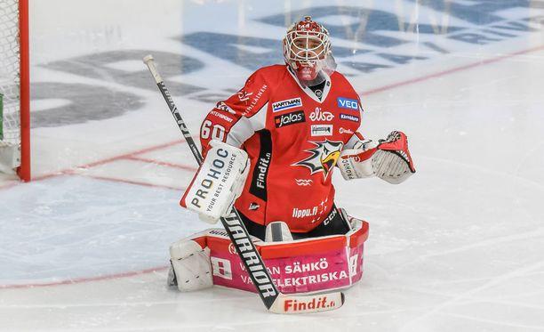 Mika Järvinen torjui HIFK:n nurin.