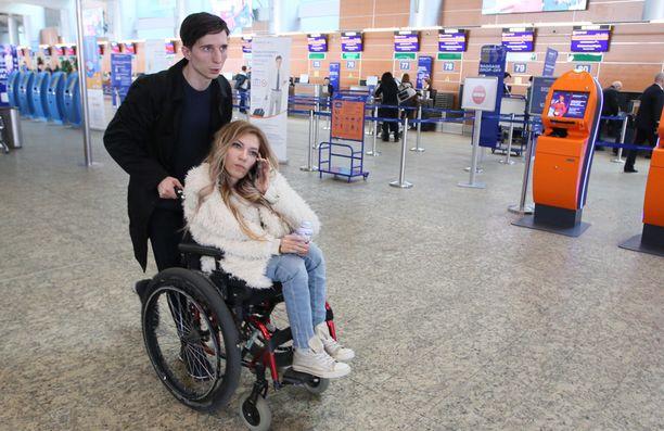 Julia Samoilova matkusti alkuviikosta Suomeen.