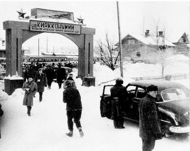 TUKIKOHTA Porkkalanniemellä sijaitsi Neuvostoliiton tukikohta vuodet 1944 – 1956.