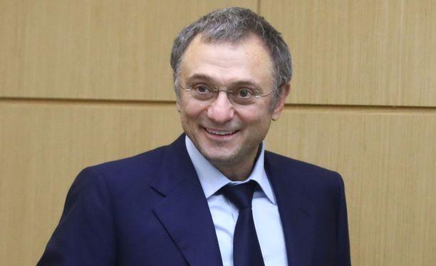 Nizzassa kiinni otettu venäläismiljardööri Suleiman Kerimov on myös Venäjän duuman jäsen. Kuvassa Kerimov 8.11.2017.
