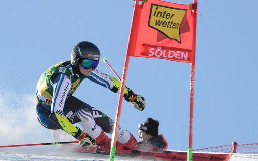 Alppihiihdon maailmancup avattiin lauantaina Itävallassa – ainoa suomalainen laski ulos