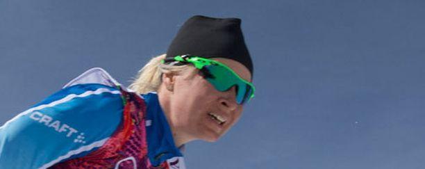 Riitta-Liisa Roponen oli paras suomalainen Davosissa.