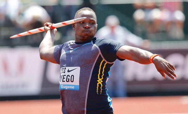 Julius Yegon tarina Keniasta keihäsmestariksi kiinnostaa urheilufaneja.