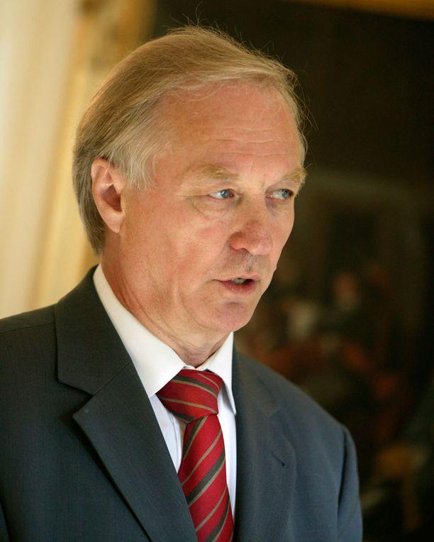 Seppo Paatelainen ei hyväksy rikkaiden veropakolaisuutta. Kuva vuodelta 2005.