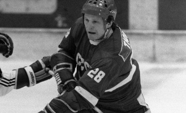 Viktor Tjumenev voitti olympiakultaa Sarajevossa 1984.
