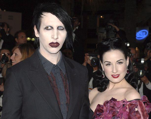 Dita von Teese oli seitsemän vuotta yhdessä Marilyn Mansonin kanssa.