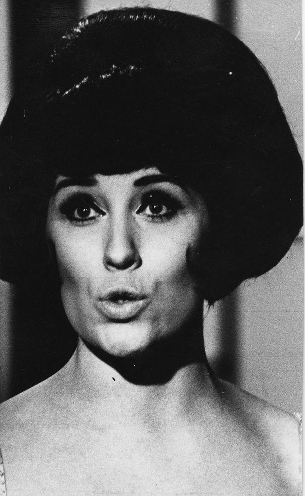 Kuvassa Laila Kinnunen vuonna 1966.