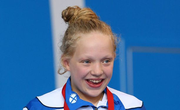 Vasta 13-vuotias Erraid Davies ui pronssille Kansanyhteisön kisoissa.