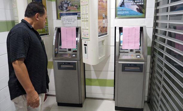 Monia pankkiautomaatteja on suljettu Taiwanissa hakkerointitapauksen jälkeen.