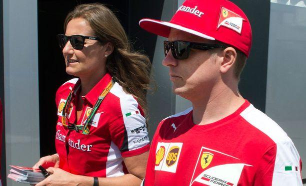 Kimi Räikkönen viihdyttää brittiyleisöä ensi viikon perjantaina.