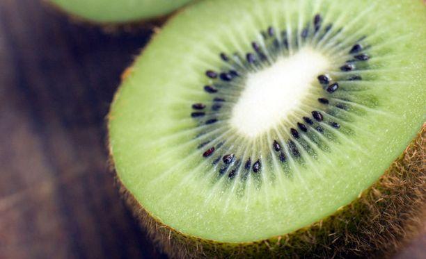 Kiivi on tehokkain hedelmä vilustumista vastaan.