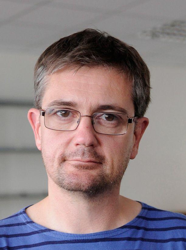 Stéphane Charbonnier alias Charb oli Charlie Hebdon päätoimittaja.