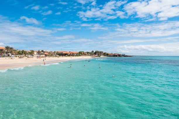 Kap Verden Santa Maria on matkailijoiden suosiossa.