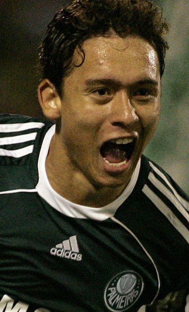 20-vuotias Keirrison pelasi viime kaudella Palmeirasin riveissä.