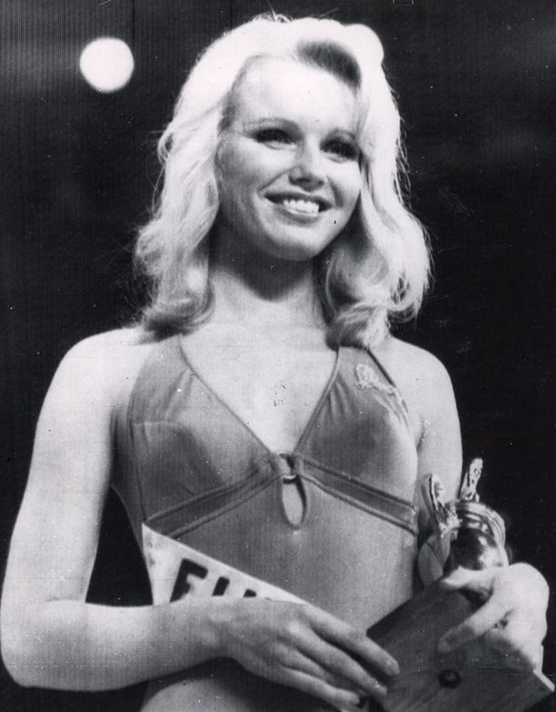 Upeaakin upeampi Miss Suomi vuonna 1974.
