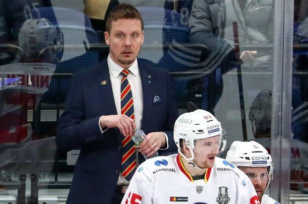 Lauri Marjamäki ajoi Jokerit perikatoon playoffeissa.