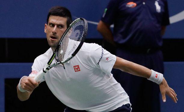 Novak Djokovic pelaa viikonloppuna US Openin finaalissa.