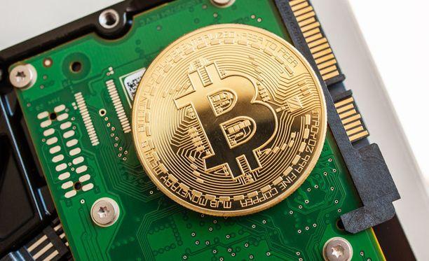 Bitcoin on vain digitaalisessa maailmassa olemassa oleva kryptovaluutta.