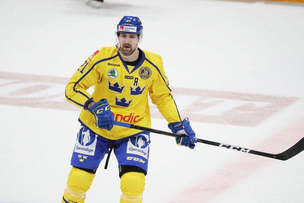 Patrik Berglund edusti Tre Kronoria vuoden 2019 MM-kisoissa.
