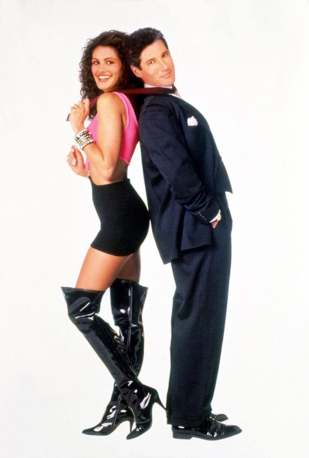 Romanttisten komedioiden kestotähti Richard Gere näytti tältä Pretty Woman -elokuvaroolissa vuonna 1990.
