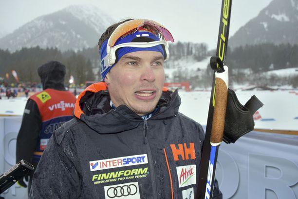Ari Luusua on voittanut urallaan kaksi SM-mitalia.