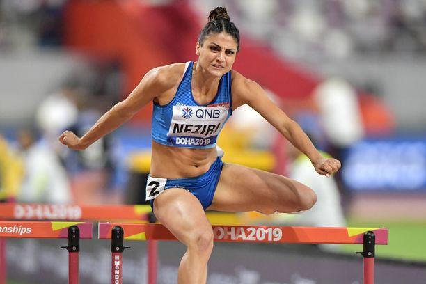 Nooralotta Neziri juoksi kauden parhaan suorituksensa MM-välierässä.