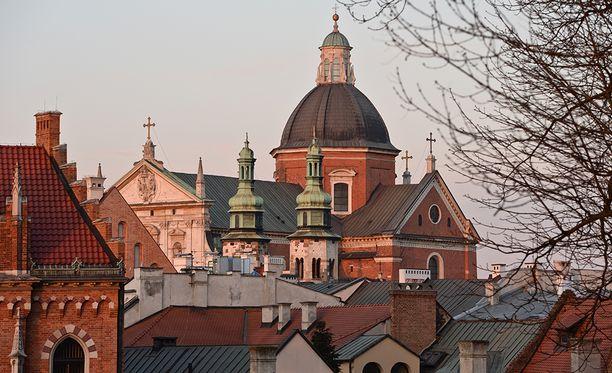 Krakova tunnetaan kauniista arkkitehtuuristaan.