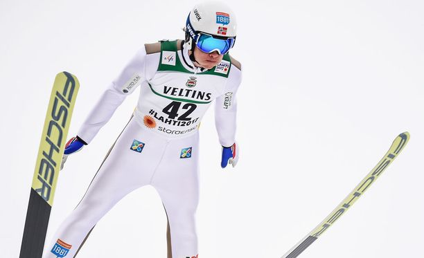 Espen Andersen oli eilen paras norjalainen yhdistetyn kisassa.