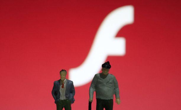 Flash Player siirtyy eläkkeelle 31.12.2020.