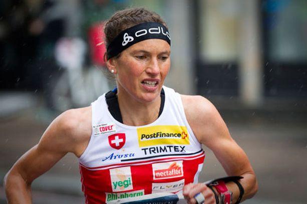 Simone Niggli on voittanut Suomen MM-kisoissa sprintin ja pitkän matkan mestaruudet.