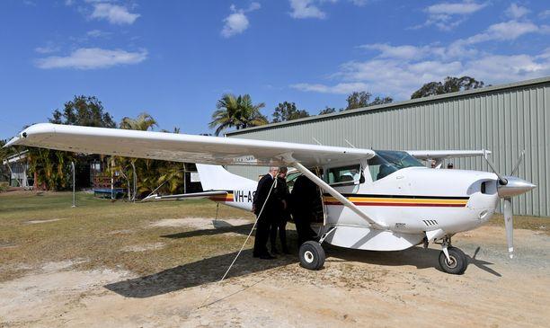 Onnettomuuskone on Cessna 206 -mallinen kone kuten kuvassakin. Kuvan kone ei liity tapaukseen.