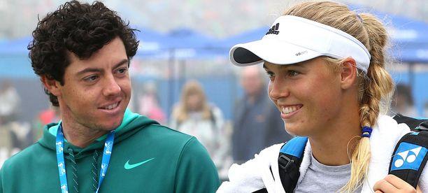 Golfari Rory McIlroy on purkanut kihlauksensa tennispelaaja Caroline Wozniackiin.