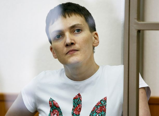 Nadija Savtshenko on noussut kansallissankarin asemaan Ukrainssa.