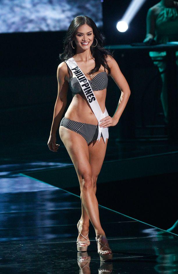 Filippiinien Pia Wurtzbach nousi yleisön suosikiksi ja valittiin Miss Universumiksi.