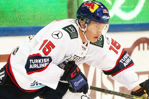 HIFK-sentteri Anton Lundellin odotetaan ottavan liiderin roolin Nuorissa Leijonissa.