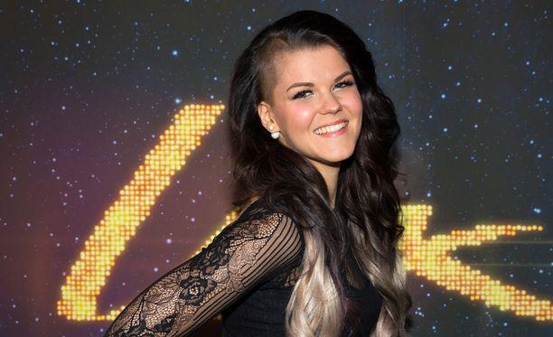 Saara Aalto nousee X Factor -lavalle jälleen viikonloppuna.