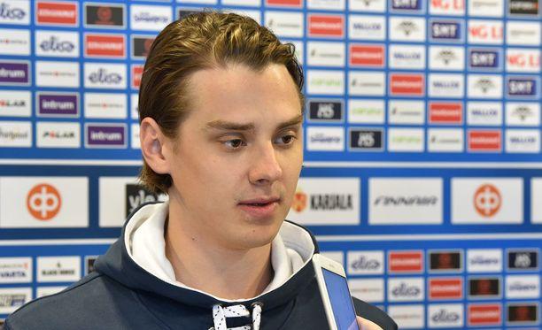 Sebastian Aho on aloittanut MM-kisat hurjalla pistetahdilla.