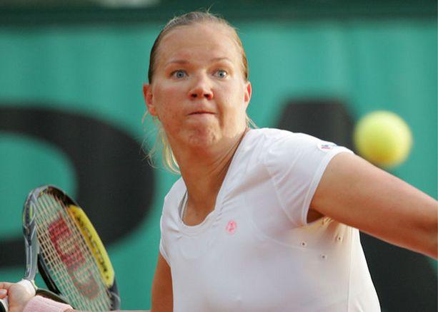 Kaia Kanepi pelaa elämänsä turnausta.